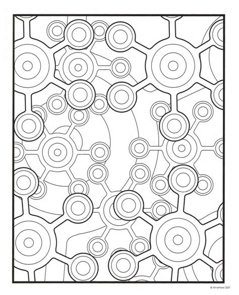 geometric coloring pages printable geometric coloring