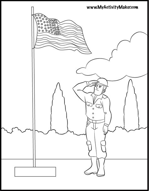 memorial day printable coloring pages coloring home