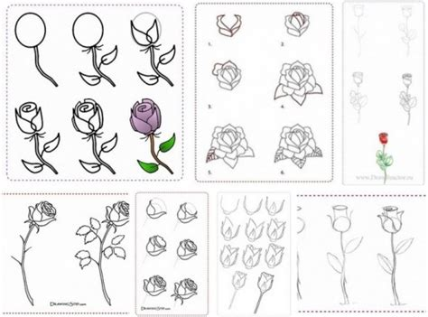 doodle flowers tutorial how to draw flowers step by step diy tutorial