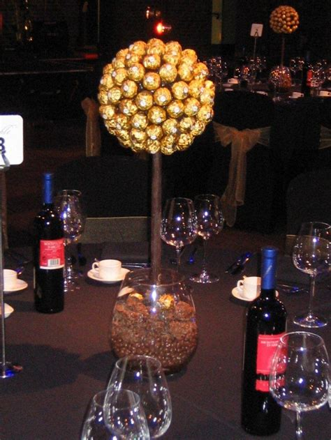Sweet Centerpieces Florida Weddings 14 Best Images About Ferrero Rocher Trees On