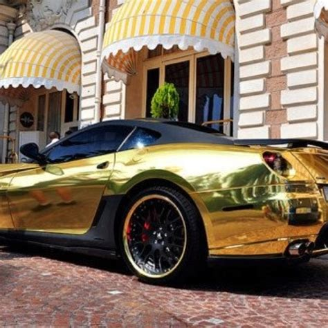 golden fast cars i think the awnings make the photograph gold car gold
