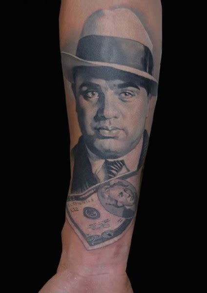 famous al capone tattoos idea  designs gallery golfiancom