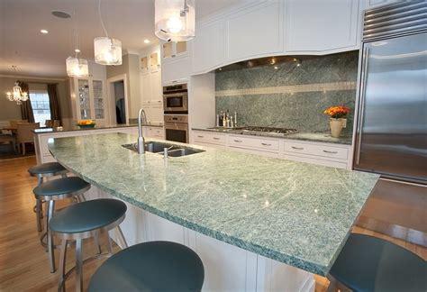 Costa Esmeralda Granite Countertops by Costa Esmeralda Granite And Pencil Edge Kitchen Project