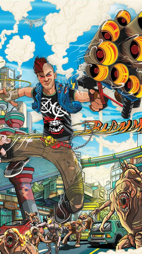 Sunset Overdrive Wallpaper