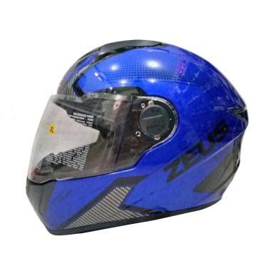 Helm Zeus Z811 Yamaha Blue jual zeus zs 811 al6 helm yamaha blue black