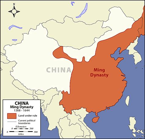 ming dynasty map the of asia history and maps