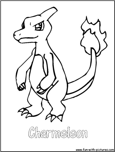 charmander coloring pages coloring pages