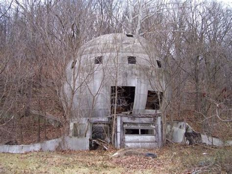 The abandoned concrete round house
