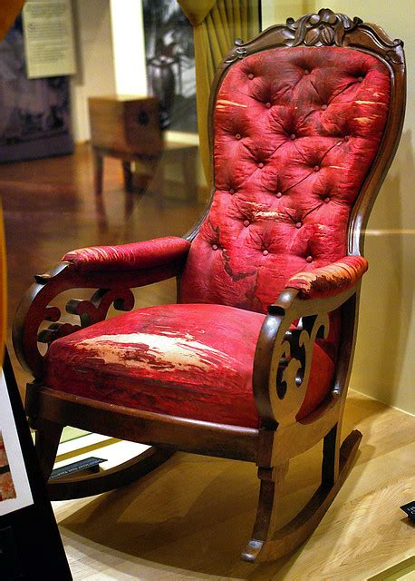 lincoln assassination rocking chair flickr photo sharing