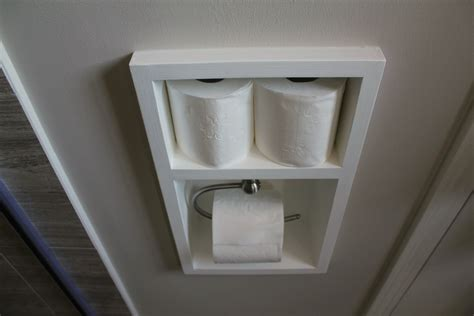 where to put toilet paper holder in small bathroom turtles and tails recessed toilet paper holder aka