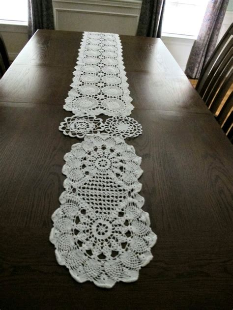 cheap wedding table runners crocheted doilies table runner for weddings by
