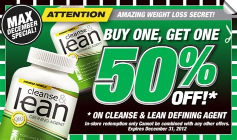 Cleanse And Lean Detox by Max Sports Nutrition