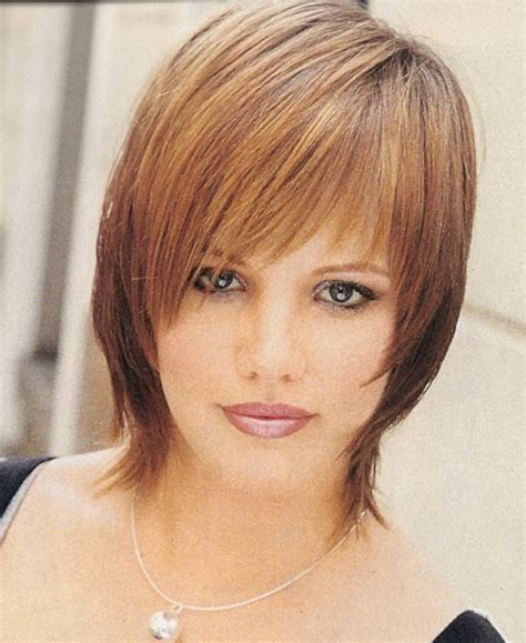hair cut for with chin below chin fine hair shag haircut hair pinterest