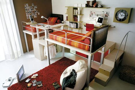 bedroom space saving ideas lofted space saving furniture for bedroom interiors