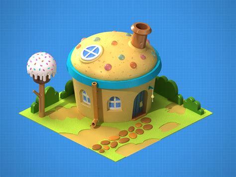 the candy house escena quot the candy house quot en vray y 3ds max 3d bundle