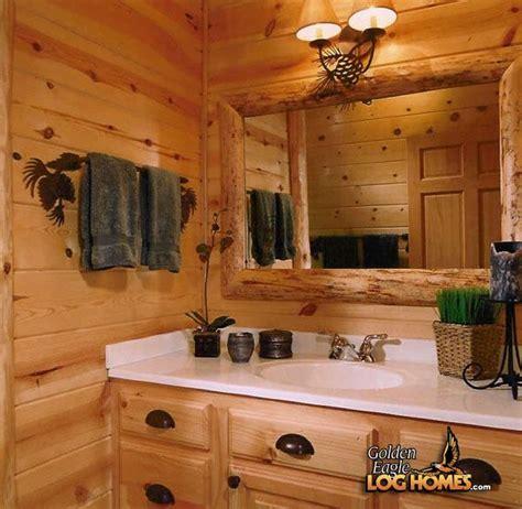 Log Home Bathroom Ideas by 1000 Ideas About Log Home Bathrooms On Log