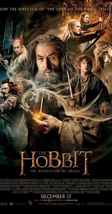 imdb most popular feature films released in 2013 the hobbit the desolation of smaug 2013 imdb
