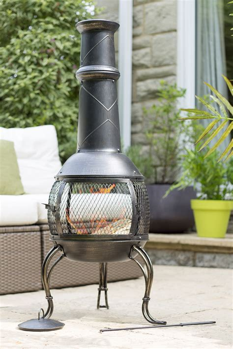 360 Degree Chiminea Mesh Chimenea Provides A Great 360 Degree View Of The