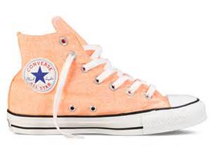 Converse Light Blue Converse Chuck Taylor All Star Hi Top Neon Orange 136622f