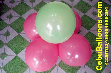 Balloon Simple Decoration by Standard Stage Balloon Decor Cebu Balloons And