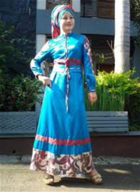 Baju Prelovedsecondbekas Koleksi Pribadi 6 contoh koleksi model baju muslim batik kombinasi brokat modern