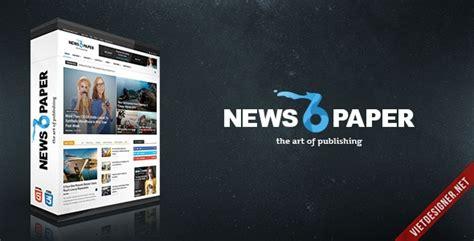 newspaper theme psd newspaper premium wordpress theme k 232 m psd trang 2
