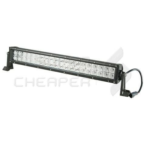 24in Led Light Bar 24 Inch 120w Cree Led Work Light Bar Flood Offroad Ute Reversing Spot 12v 24v Unbranded