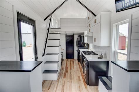 2 Bedroom Tiny House beautifully designed tiny house with luxury kitchen and