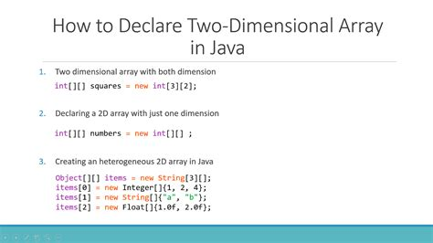 how to declare string in java javarevisited 6 exle to declare two dimensional array