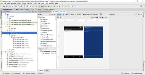 membuat aplikasi android xml membuat aplikasi pertama di android studio kucing tekno com