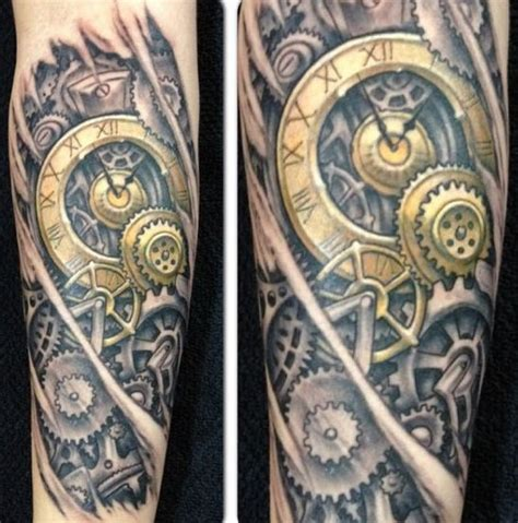 17 best ideas about steampunk tattoo design on pinterest