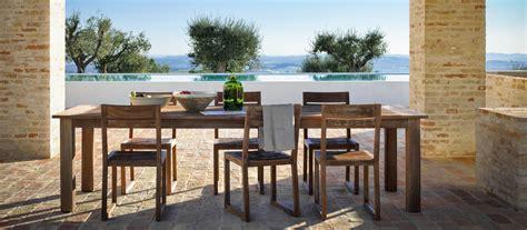 tavoli esterno design tavoli da giardino per esterno di design unopi 249