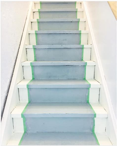 painted basement stairs home design ideas
