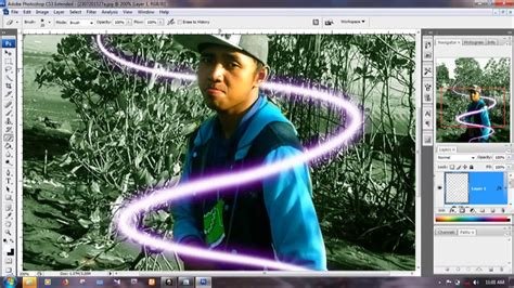 tutorial vscocam keren tutorial photo shop efek keren glow youtube