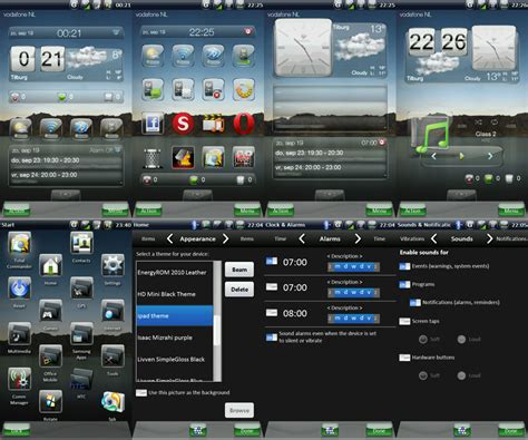 mobile themes vxp file ipad theme for windows mobile