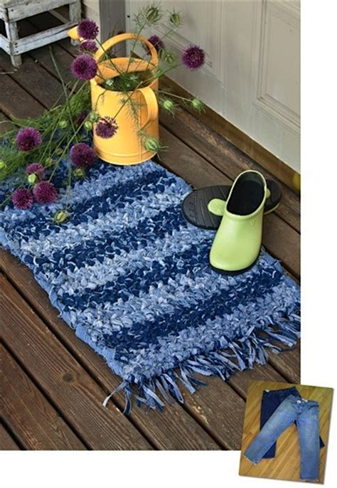 Make Braided Rug More Recycling Ideas For Kids Blue Jeans Area Rugs
