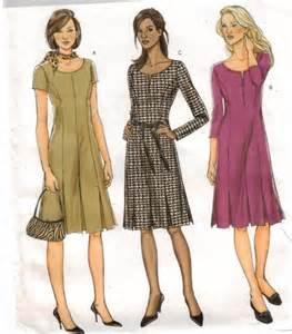Modern dress pattern dress butterick pattern 4598