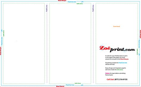 Templates 11x17 Tri Fold Brochure Template Publisher