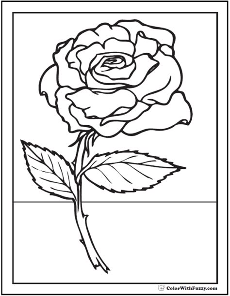 coloring pages more images roses 12 73 rose coloring pages customize pdf printables
