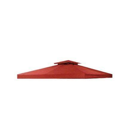 10 X 10 Universal Replacement Canopy Two Tiered by Garden Winds Signature Series 10 X 10 Two Tiered