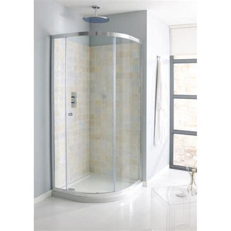 Single Door Quadrant Shower Enclosure Simpsons Edge Quadrant Single Door Shower Enclosure Buy At Bathroom City