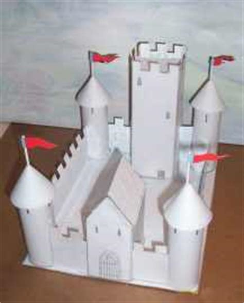 How To Make A Paper Castle By Steps - build a cardboard and paper castle