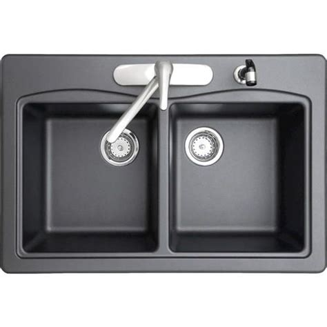 swan granite bowl kitchen sink at menards kitchen