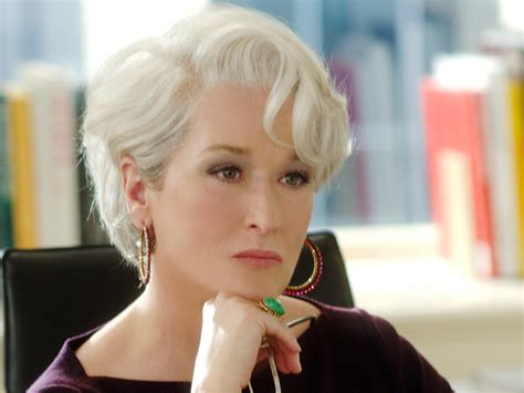 meryl streep as miranda priestly in devil wears prada meryl streep devil wears prada memes