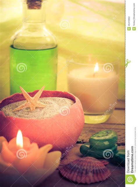 candele olio massaggio zen aromatico delle pietre delle candele di massaggio dell