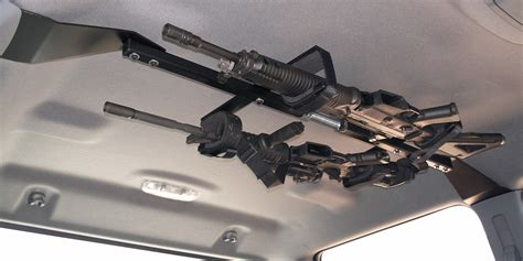 Gun Rack In Truck by Center Lok Overhead Gunrack For Tactical Weapons Truck