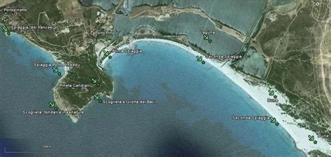 porto pino mappa sardegna porto pino mappa geografica