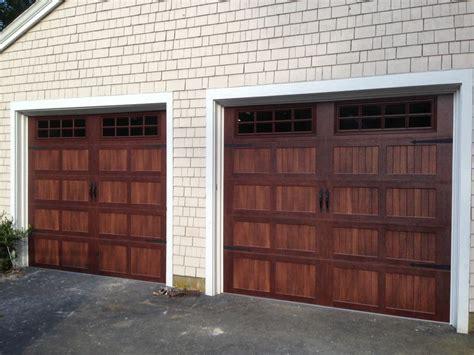 chi overhead door prices c h i overhead doors model 5216 faux wood steel carriage