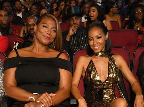 Queen Latifah Giveaway - jada pinkett smith queen latifah on their overdue set it off reunion extratv com