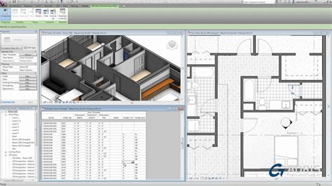 tutorial revit lt revit lt 2014 tutorial schedules and tags youtube